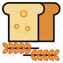 bread, cooking, food, ingredients, kitchen, recipe, restaurant icon
