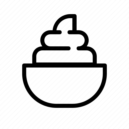 cook, cream, food, ingredient, mayo, sauce icon
