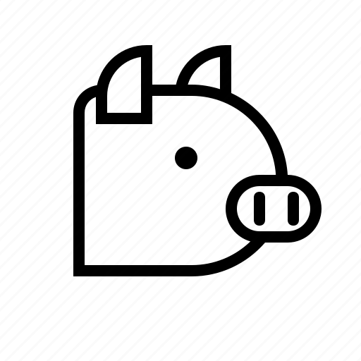 Animal, cook, food, ingredient, pig, pork icon - Download on Iconfinder