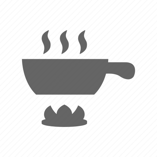 cooking, fire, food, fry, preparation icon
