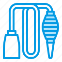 aquarium, equipment, pump, siphon, tool icon