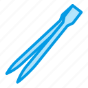 aquarium, equipment, tool, tweezer icon