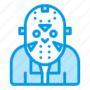 bluetone, character, friday, halloween, horror, jason icon