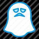 bluetone, dead, ghost, halloween, soul, specter, spirit icon