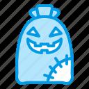 bluetone, character, halloween, horror, jute, jutebag icon
