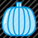 autumn, bluetone, fall, greens, halloween, pumpkin, vegetable icon