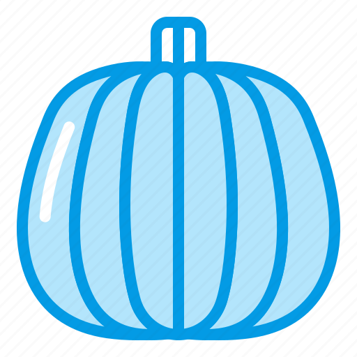 autumn, bluetone, fall, greens, halloween, pumpkin, vegetable icon