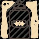 box, food, kitchen, kitchen gear, package icon
