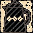 coffee, drink, flask, hot, kitchen, kitchen gear, tea