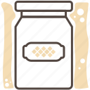 box, food, jam, jar, kitchen, kitchen gear, package