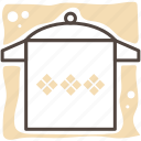 cook, cooking, food, kitchen, kitchen gear, meal, pot icon
