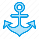 boat, marine, sea, ship, summer icon