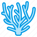 coral, marine, nature, sea, summer icon