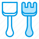 shovels, summer, tool, toys icon