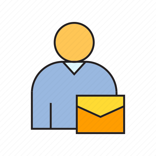 email, envelope, letter, mail, people, user icon