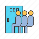 boss, ceo, employee, employer, executive, worker icon