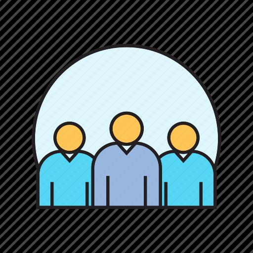 group, organization, people, team, teamwork, worker icon