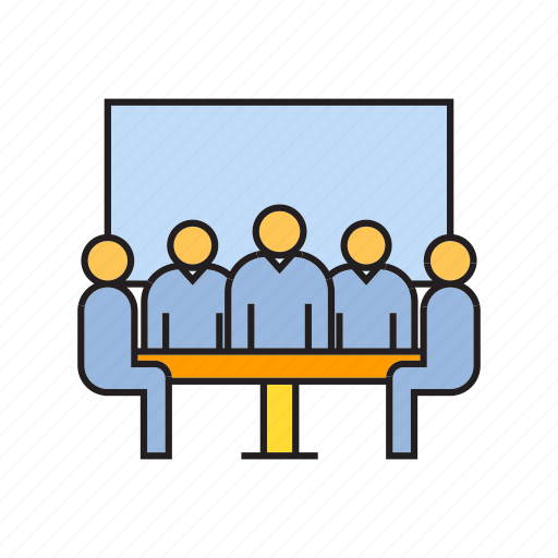 board, business, cooperate, executive, management, office, organization icon