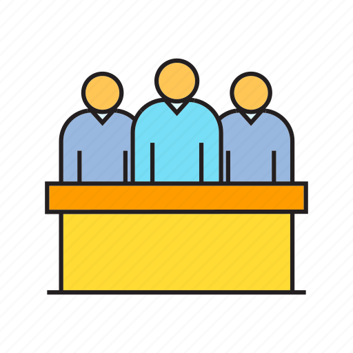 administrator, board, collaborate, company, cooperate, executive, management icon