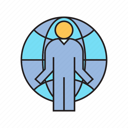 Global, globe, people, world icon - Download on Iconfinder