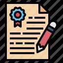 copywriting, document, editing, pencil, reward, writing