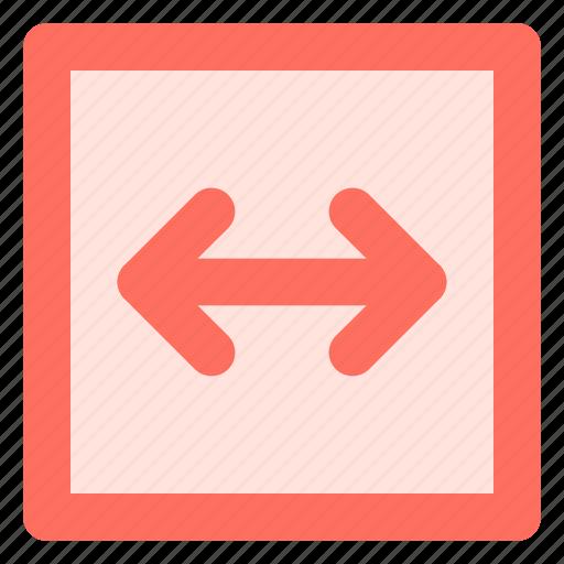 arrow, direction, left, right icon