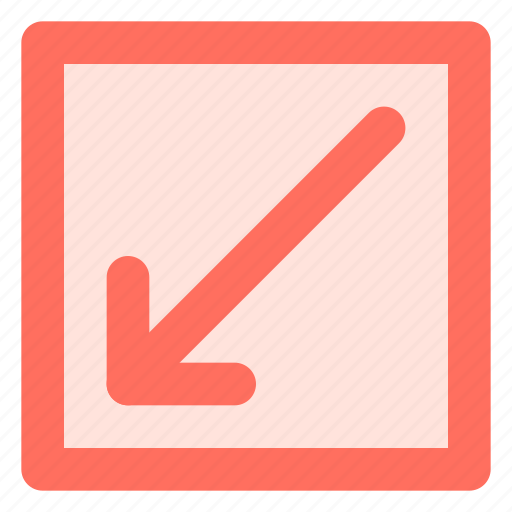 Arrow, diagonal, direction, left, right icon - Download on Iconfinder