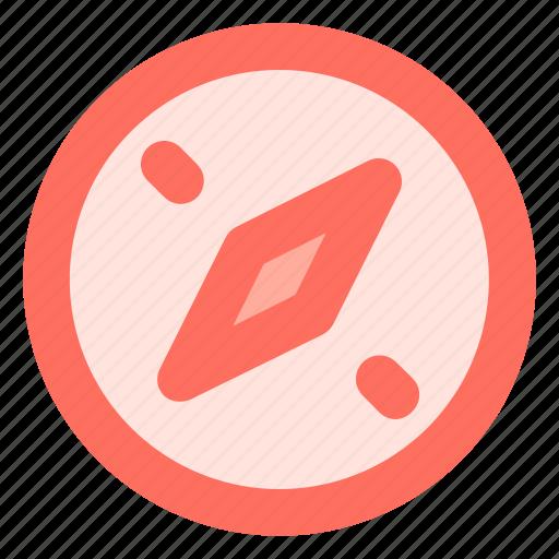 compass, location, nature, navigation icon