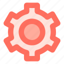gear, preference, setting, wheel icon