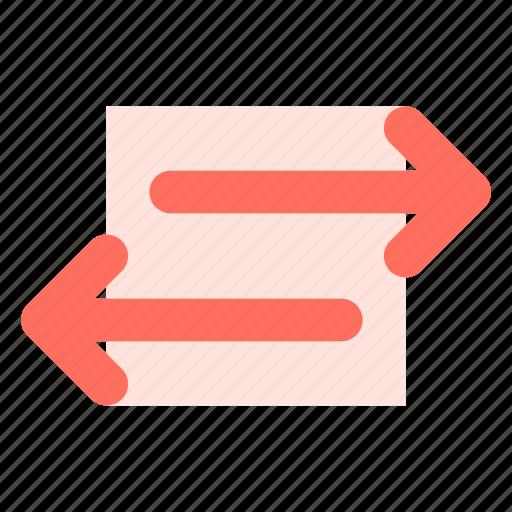 arrow, sharing, transfer icon