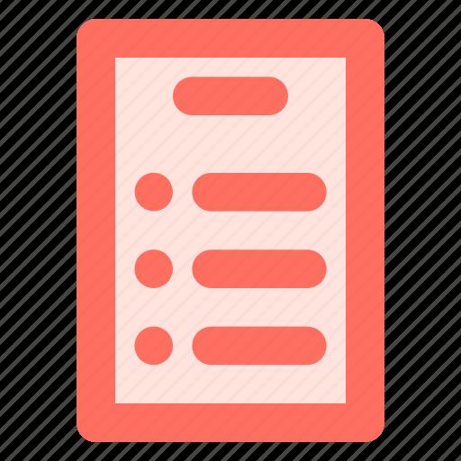 checkmark, list, menu icon