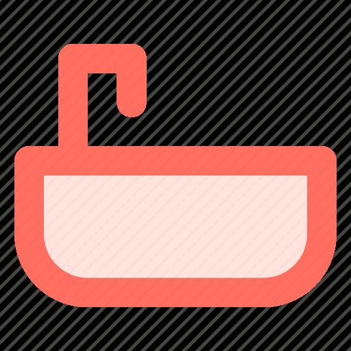 Bath, bathroom, bathtub, shower icon - Download on Iconfinder