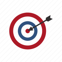 business, core, goal, performance, success, target, value icon