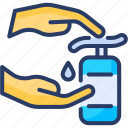 antibacterial, cleaning, disinfectants, hand wash, hygiene, sanitizer, soap icon