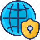 avoidance, care, caution, global, protection, safety, security icon