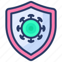 antiseptic, antiviral, hygiene, protection, safety, sanitizer, virus icon