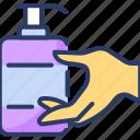 antibacterial, cleaning, disinfection, dispenser, housekeeping, hygiene, spray