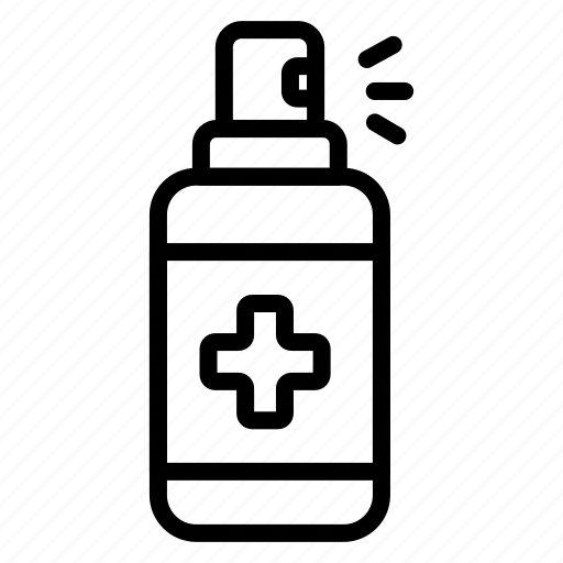 Icon, line, handsanitizer icon - Download on Iconfinder