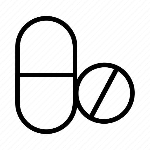Icon, line, drug, medicine, healthcare icon - Download on Iconfinder