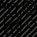 block, cylinder, gas cylinder icon