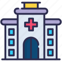 hospital building, hospital, clinic, medical, health, healthcare, treatment