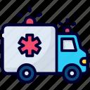 ambulance, emergency, rescue, medical, hospital, vehicle, transport