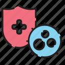 corona virus, covid19, immune, immunity, quarantine, virus icon
