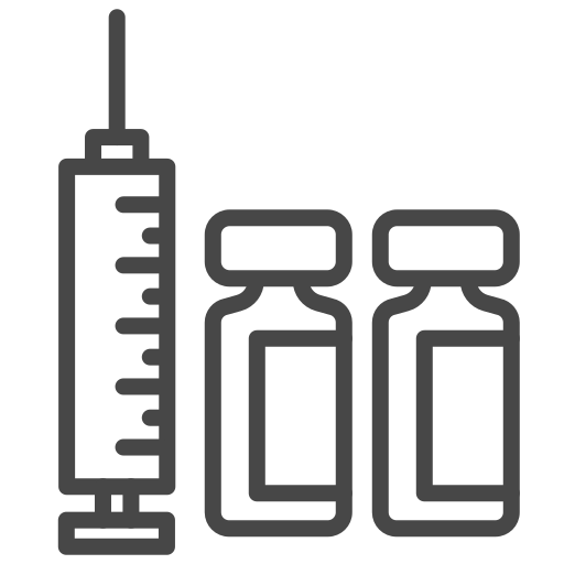 antivirus, injection, syringe, vaccine icon