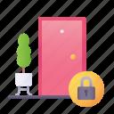 quarantine, stay, home, lockdown icon