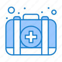 case, emergency, kit, medical