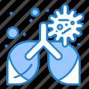 bronchitis, disease, lung, pneumonia