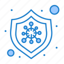 bacteria, disease, protection, virus icon