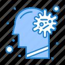 brain, cold, flu, illness, virus