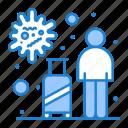 infection, tourist, transmission, travel, virus